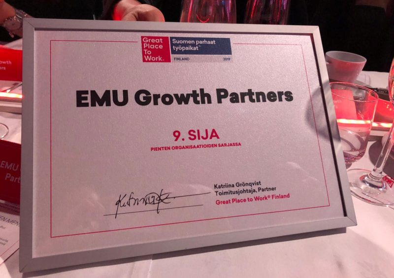 EMU Growth Partners GPTW2019